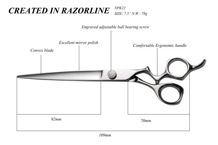 NPK22 pet scissor SIZE